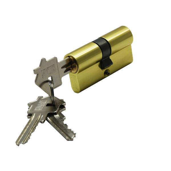 Цилиндр ключ-ключ BUSSARE CYL 3-60 GOLD золото (БУССАРЕ)