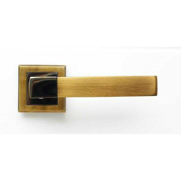 Ручка дверная STRICTO A-67-30 COFFEE BLACK/MOККA кофе черный/мокко BUSSARE (БУССАРЕ)